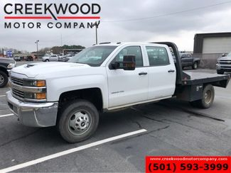 2018 Chevrolet Silverado 3500HD Work Truck 4x4 Diesel Dually CM Flatbed New Tires in Searcy, AR 72143