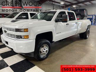 2018 Chevrolet Silverado 3500HD W/T 4x4 Duramax Diesel Allison Dually 1Owner White in Searcy, AR 72143