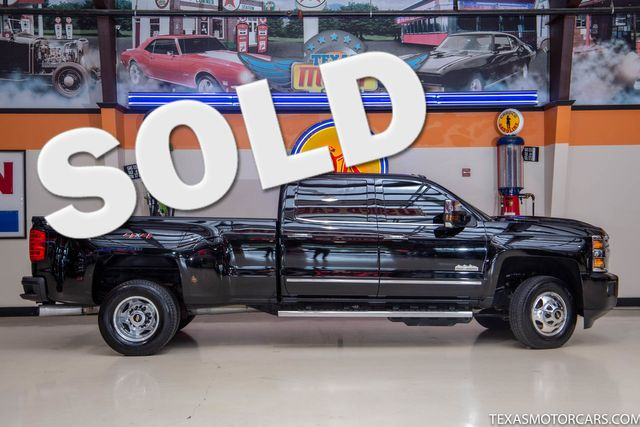 2018 Chevrolet Silverado DRW 3500HD High Country 4x4