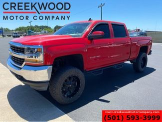 2018 Chevrolet Silverado 1500 LT 4x4 Lifted Black 20's Red Extras Low Miles NICE in Searcy, AR 72143