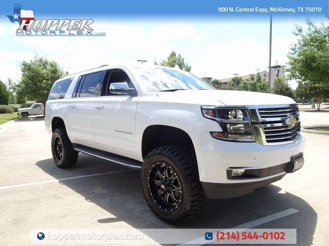 2018 Chevrolet Suburban Premier Lift Custome Wheels And