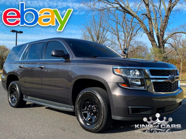 2018 Chevrolet Tahoe Ppv POLICE PACKAGE 4X4 6K MILES SHOWROOM CONDITION RARE