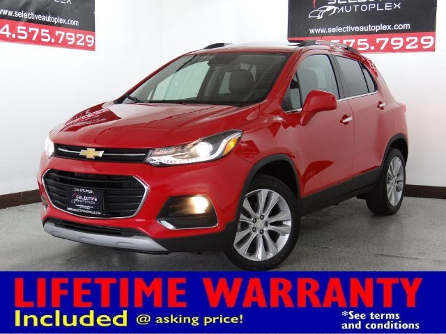 2018 Chevrolet Trax Premier, LEATHER SEATS, SUNROOF, BACKUP CAM