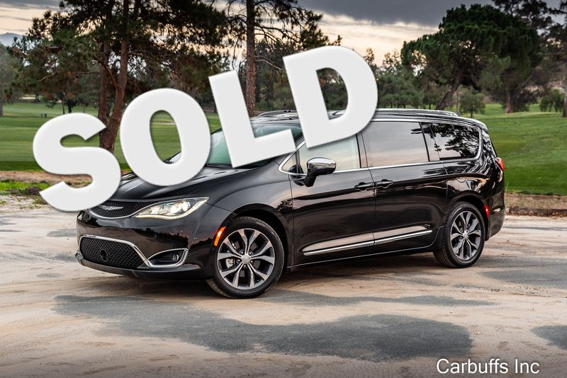 2018 Chrysler Pacifica Limited   Concord, CA   Carbuffs