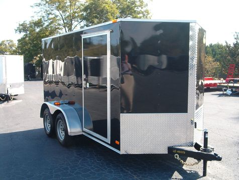 2019 Covered Wagon Enclosed 6x12 Tandem  in Madison
