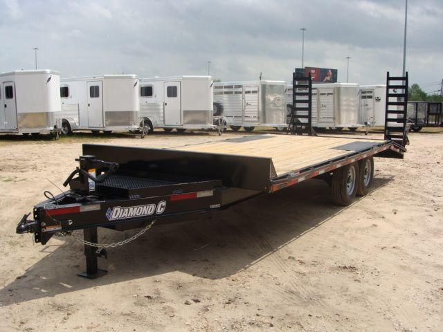 2018 Diamond C 13DEC 20' - Heavy Duty Deck-Over Trailer CONROE, TX 8