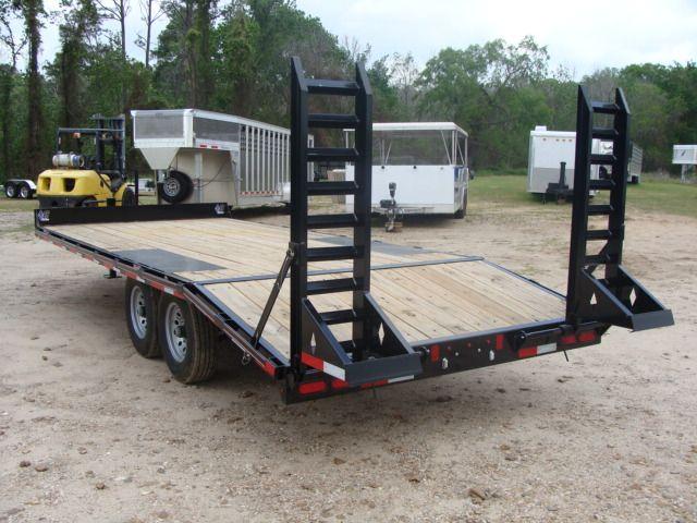 2018 Diamond C 13DEC 20' - Heavy Duty Deck-Over Trailer CONROE, TX 10