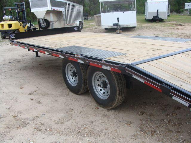 2018 Diamond C 13DEC 20' - Heavy Duty Deck-Over Trailer CONROE, TX 11