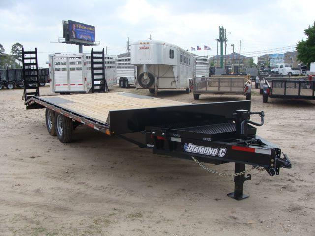 2018 Diamond C 13DEC 20' - Heavy Duty Deck-Over Trailer CONROE, TX 22
