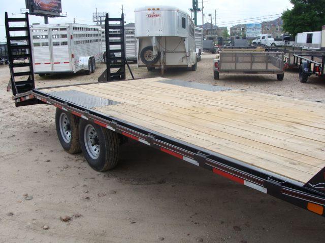 2018 Diamond C 13DEC 20' - Heavy Duty Deck-Over Trailer CONROE, TX 1