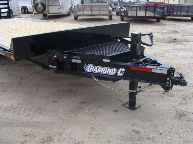 2018 Diamond C 13DEC 20' - Heavy Duty Deck-Over Trailer CONROE, TX 2