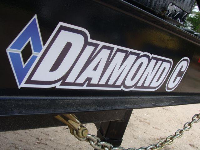 2018 Diamond C 13DEC 20' - Heavy Duty Deck-Over Trailer CONROE, TX 3