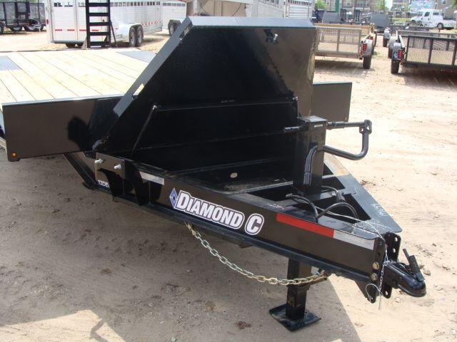 2018 Diamond C 13DEC 20' - Heavy Duty Deck-Over Trailer CONROE, TX 4