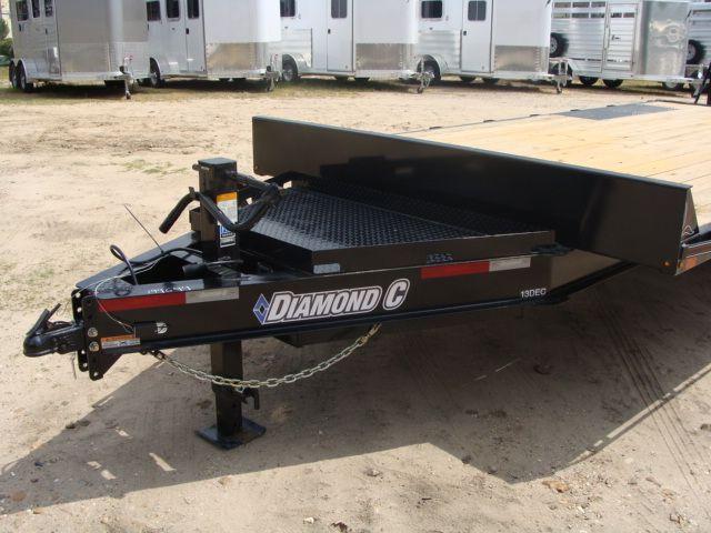 2018 Diamond C 13DEC 20' - Heavy Duty Deck-Over Trailer CONROE, TX 6