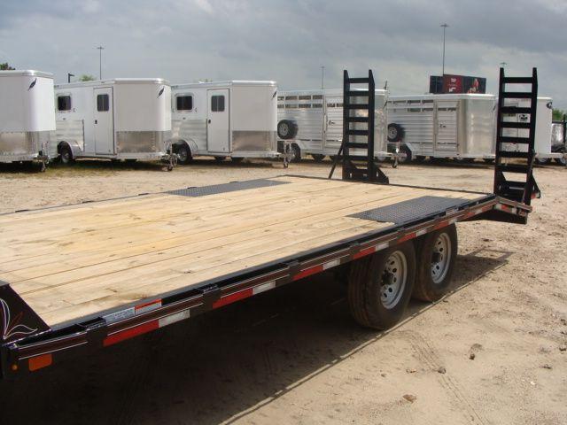 2018 Diamond C 13DEC 20' - Heavy Duty Deck-Over Trailer CONROE, TX 7