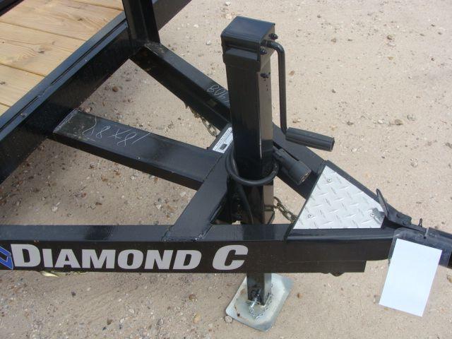 "2018 Diamond C 14TUT - 18' ""Texas"" Utility Trailer CONROE, TX 5"