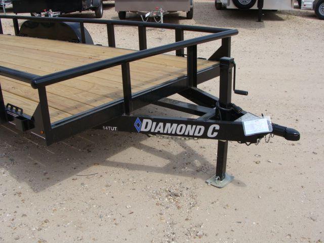 "2018 Diamond C 14TUT - 18' ""Texas"" Utility Trailer CONROE, TX 4"