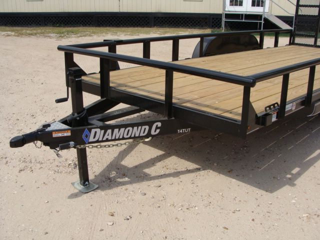 "2018 Diamond C 14TUT - 18' ""Texas"" Utility Trailer CONROE, TX 7"