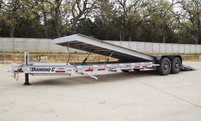 2018 Diamond C 25' HDT Tandem Axle with Full Powered Steel Tilt Teck and Winch in Keller, TX 76111