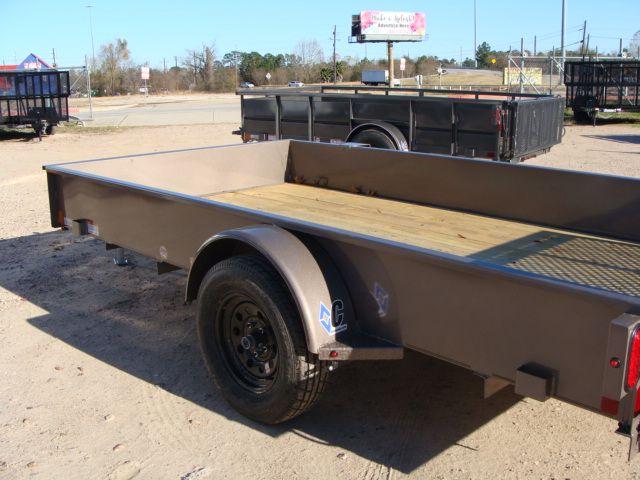 2018 Diamond C 26SSA - 12' Solid-Side Single Axle Utility Trailer CONROE, TX 11