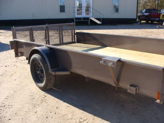 2018 Diamond C 26SSA - 12' Solid-Side Single Axle Utility Trailer CONROE, TX 2