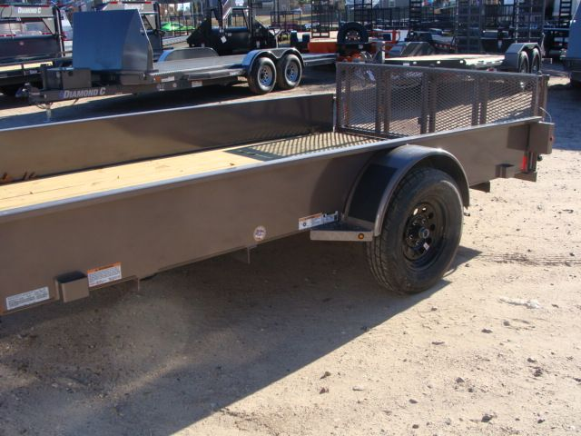 2018 Diamond C 26SSA - 12' Solid-Side Single Axle Utility Trailer CONROE, TX 6