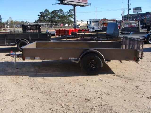 2018 Diamond C 26SSA - 12' Solid-Side Single Axle Utility Trailer CONROE, TX 9