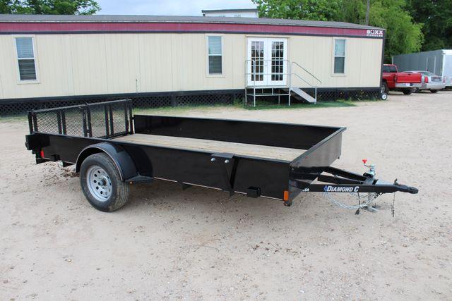 2018 Diamond C 26SSA - 12' Solid-Side, SINGLE AXLE UTILITY CONROE, TX 19