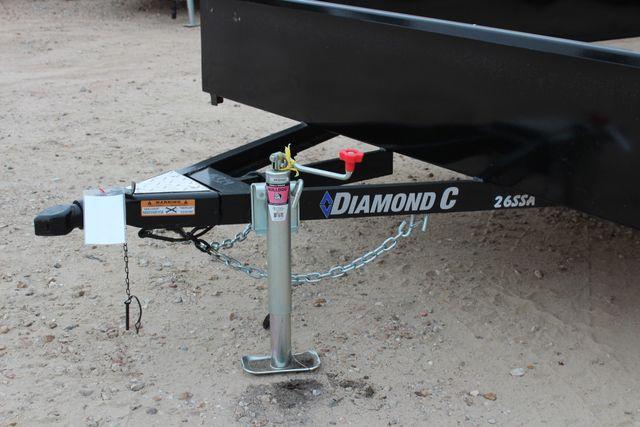 2018 Diamond C 26SSA - 12' Solid-Side, SINGLE AXLE UTILITY CONROE, TX 4