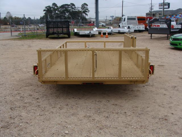 2018 Diamond C 2PSA - 12' ATV All-Around Single Axle Utility Trailer CONROE, TX 16