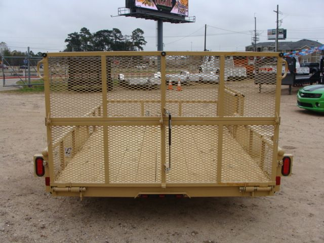 2018 Diamond C 2PSA - 12' ATV All-Around Single Axle Utility Trailer CONROE, TX 17