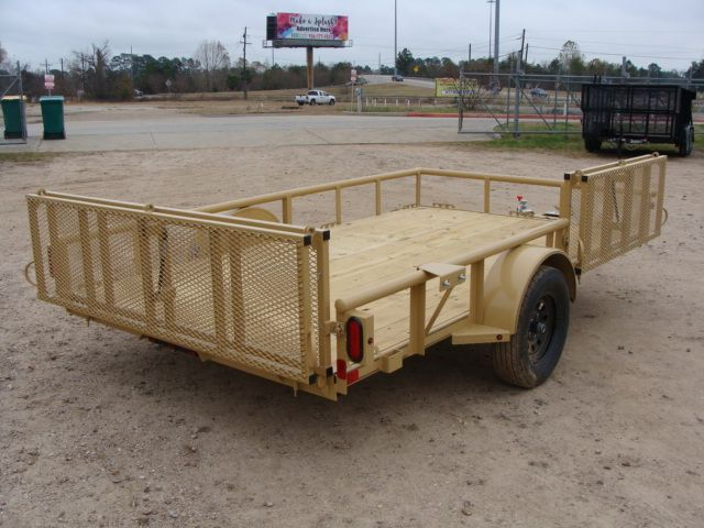 2018 Diamond C 2PSA - 12' ATV All-Around Single Axle Utility Trailer CONROE, TX 23