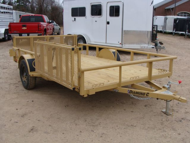 2018 Diamond C 2PSA - 12' ATV PKG All-Around Single Axle Utility Trailer CONROE, TX 24