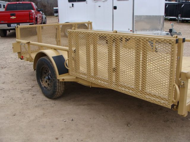 2018 Diamond C 2PSA - 12' ATV PKG All-Around Single Axle Utility Trailer CONROE, TX 2