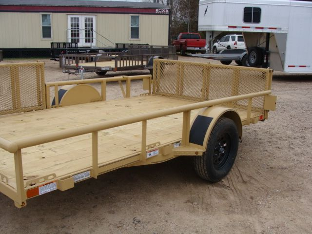 2018 Diamond C 2PSA - 12' ATV PKG All-Around Single Axle Utility Trailer CONROE, TX 6