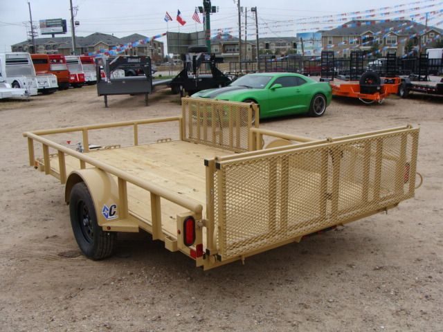 2018 Diamond C 2PSA - 12' ATV PKG All-Around Single Axle Utility Trailer CONROE, TX 9
