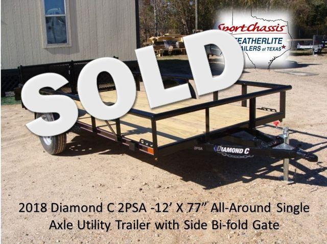 2018 Diamond C 2PSA - 12' Pacesetter 12' CONROE, TX