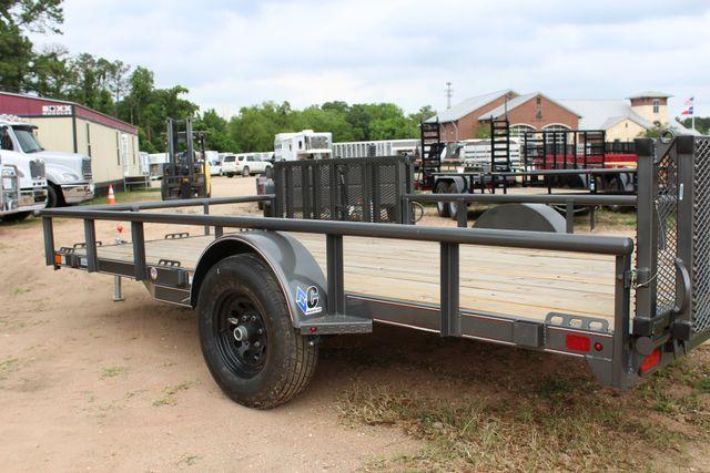2018 Diamond C 2PSA - 14' ATV All-Around Single Axle Utility Trailer CONROE, TX 12