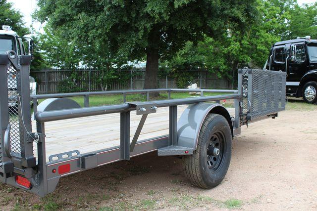 2018 Diamond C 2PSA - 14' ATV All-Around Single Axle Utility Trailer CONROE, TX 20
