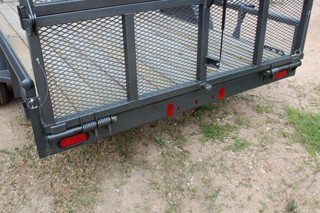 2018 Diamond C 2PSA - 14' ATV All-Around Single Axle Utility Trailer CONROE, TX 14