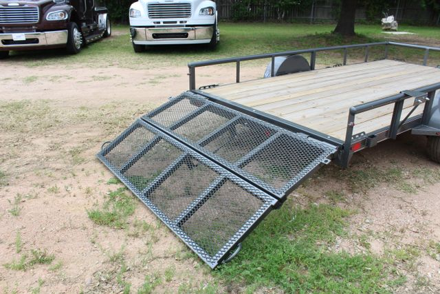 2018 Diamond C 2PSA - 14' ATV All-Around Single Axle Utility Trailer CONROE, TX 19