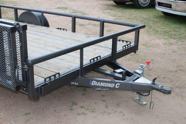 2018 Diamond C 2PSA - 14' ATV All-Around Single Axle Utility Trailer CONROE, TX 4