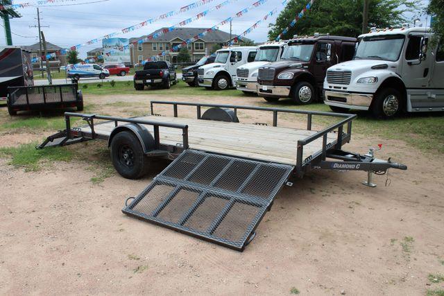 2018 Diamond C 2PSA - 14' ATV All-Around Single Axle Utility Trailer CONROE, TX 3