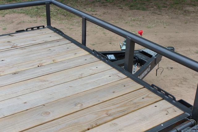 2018 Diamond C 2PSA - 14' ATV All-Around Single Axle Utility Trailer CONROE, TX 26