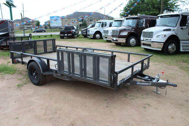 2018 Diamond C 2PSA - 14' ATV All-Around Single Axle Utility Trailer CONROE, TX 27
