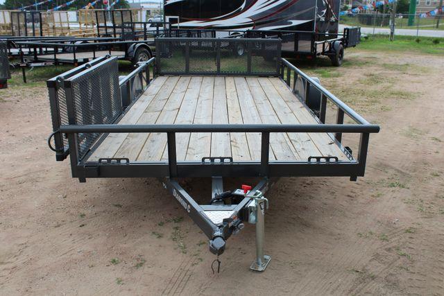 2018 Diamond C 2PSA - 14' ATV All-Around Single Axle Utility Trailer CONROE, TX 6