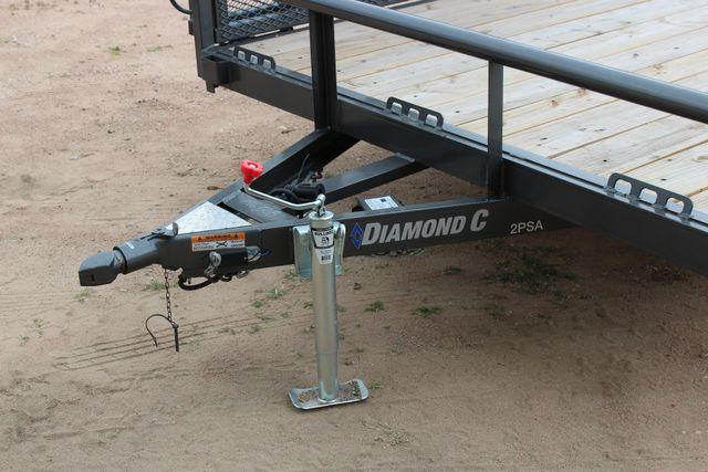 2018 Diamond C 2PSA - 14' ATV All-Around Single Axle Utility Trailer CONROE, TX 7