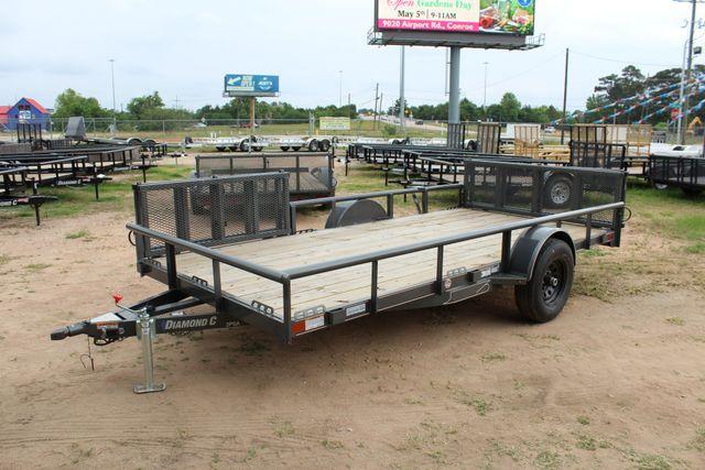 2018 Diamond C 2PSA - 14' ATV All-Around Single Axle Utility Trailer CONROE, TX 9