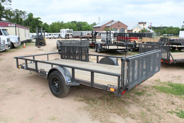2018 Diamond C 2PSA - 14' ATV All-Around Single Axle Utility Trailer CONROE, TX 11
