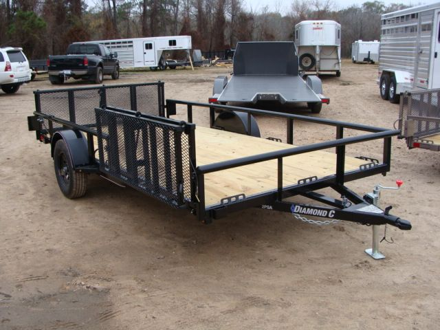 2018 Diamond C 2PSA - 14' ATV PKG All-Around Single Axle Utility Trailer CONROE, TX 22